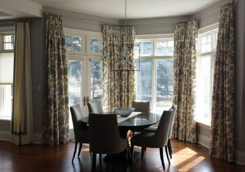 Custom Drapery Installed at W. Residence – Islington, Etobicoke