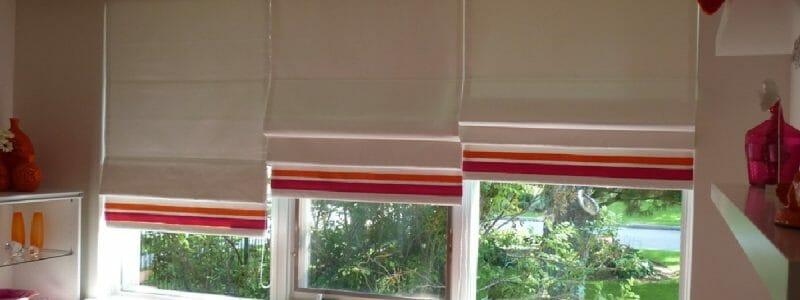 Roman Shade Window Coverings