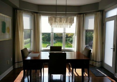 Custom Window Covering Installed at Z. B. – Residence – Markham