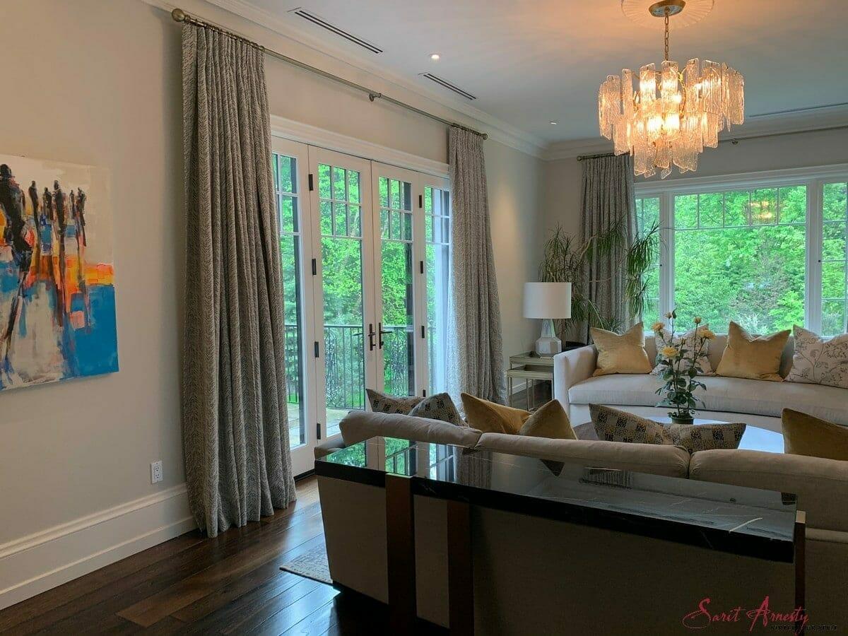Custom Window Drapes By Sarit Arnesty